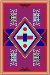 rug tile pattern