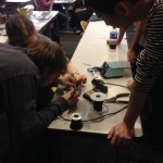 Mark soldering with group