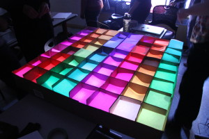 LED Table Closeup