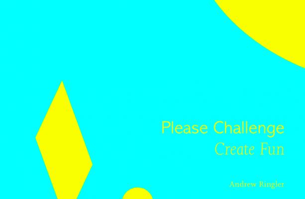 Please Challenge, Create Fun Book Cover