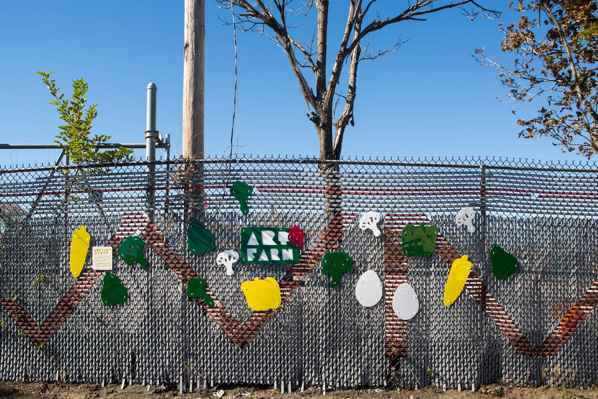 Art Farm Fence | Andrew Ringler